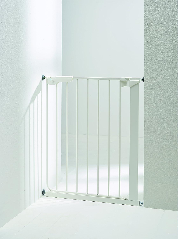 para puertas estrechas Puerta de seguridad de ajuste a presi/ón BabyDan Danamic 63-69,5 cm