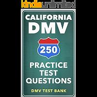 250 California DMV Practice Test Questions