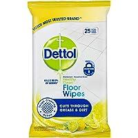 Dettol Antibacterial Floor Cleaning Wipes Lemon & Lime (25 Pack)
