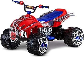 Kid Trax Spiderman Power ATV Kids 4 Wheeler