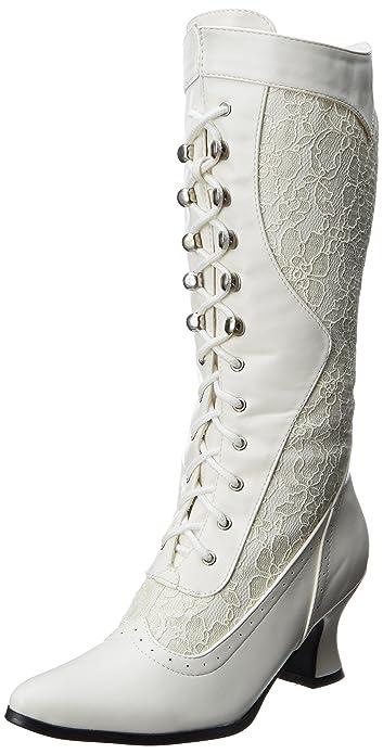 230874f64efa8 Ellie Shoes Women's 253-Rebecca Lace Heel Boot