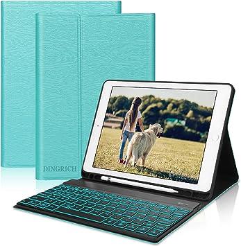 Dingrich Funda Teclado para iPad 9,7 con Teclado Bluetooth ...