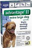 Advantage II Extra Large Dog 6-Pack