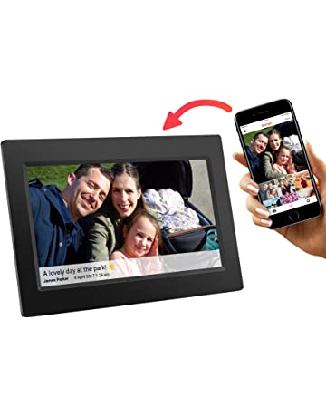 digital wall picture frame 15 inch price13599 amazoncom digital picture frames electronics
