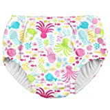 i play. 2 Pack Girls Reusable Baby Swim Diapers