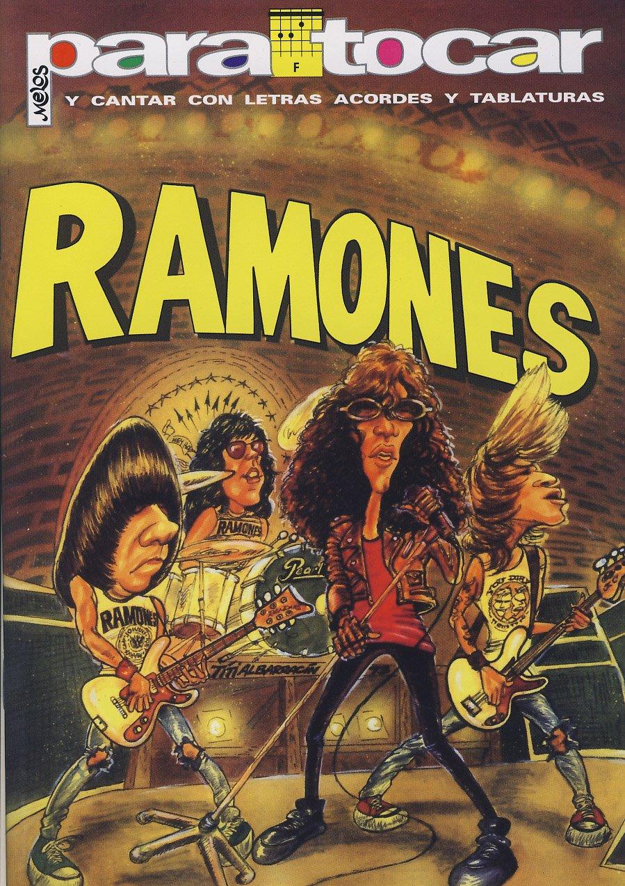 RAMONES - Cancionero (Letras y Acordes) para Guitarra: Amazon.es: RAMONES: Libros