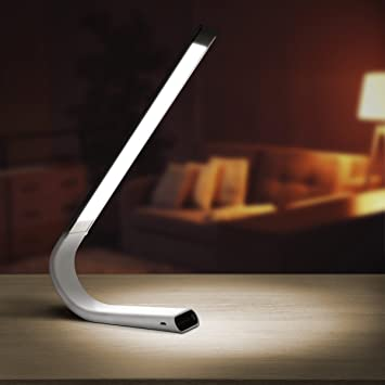 Luxe Cordless Eye Friendly LED Desk Lamp, USB Rechargeable, Up To 40 Hours  Of