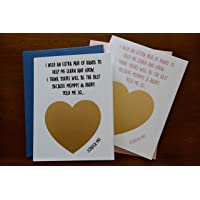 Will You Be My Godparents Invitation Scratch Off Cards Set of 2