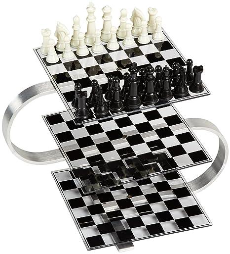 3D Strato Chess Set, New
