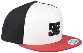 DC Shoes Snappy Snapback Cap, Hombre, Black/White-Combo