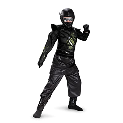 Ninja C.O.R.E. Deluxe Costume for Kids: Toys & Games