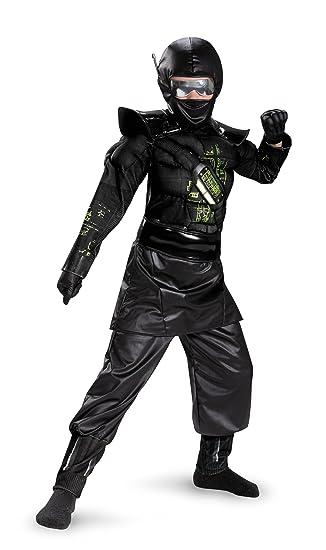 Amazon.com: Ninja C.O.R.E. Deluxe Costume for Kids: Toys & Games