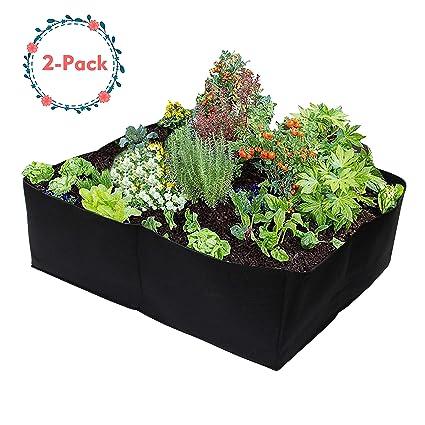 Amazon.com: Gardzen - Bolsas para plantas, 2 - unidades ...