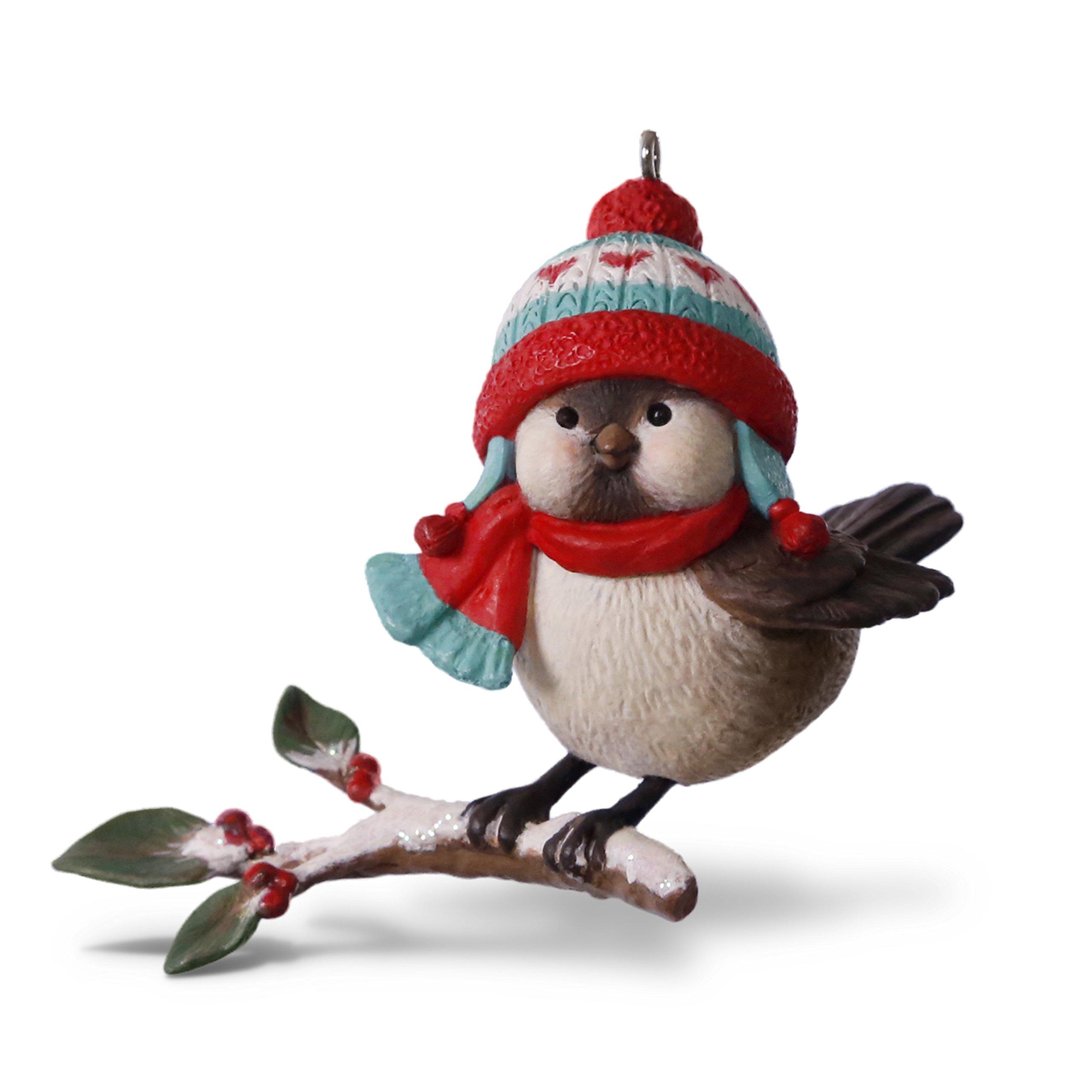 Hallmark Keepsake 2017 Cozy Critters Christmas Ornament