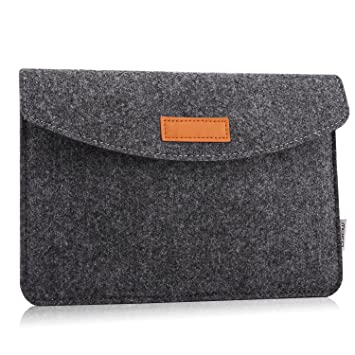 5aef68438bccd MoKo Sleeve for 7-8 Inch Amazon Tablet, Protective Felt Case Bag Cover Fits  Fire HD 8, Fire 7 2017/2019, Fire 7 / Fire HD 8 Kids Edition 2017, Kindle  ...