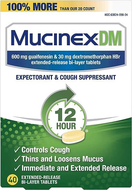 mucinex causa impotencia