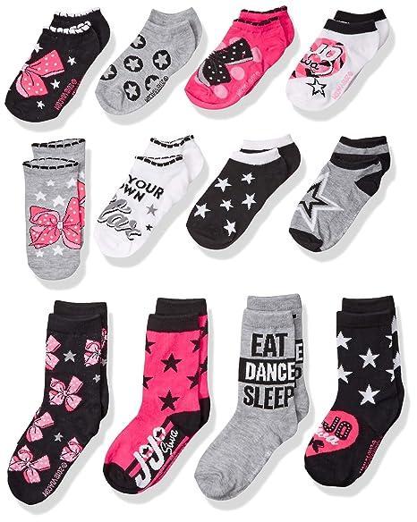 746e496b5af Amazon.com: Nickelodeon Girls' Big JoJo Siwa 12 Days of Socks Advent ...