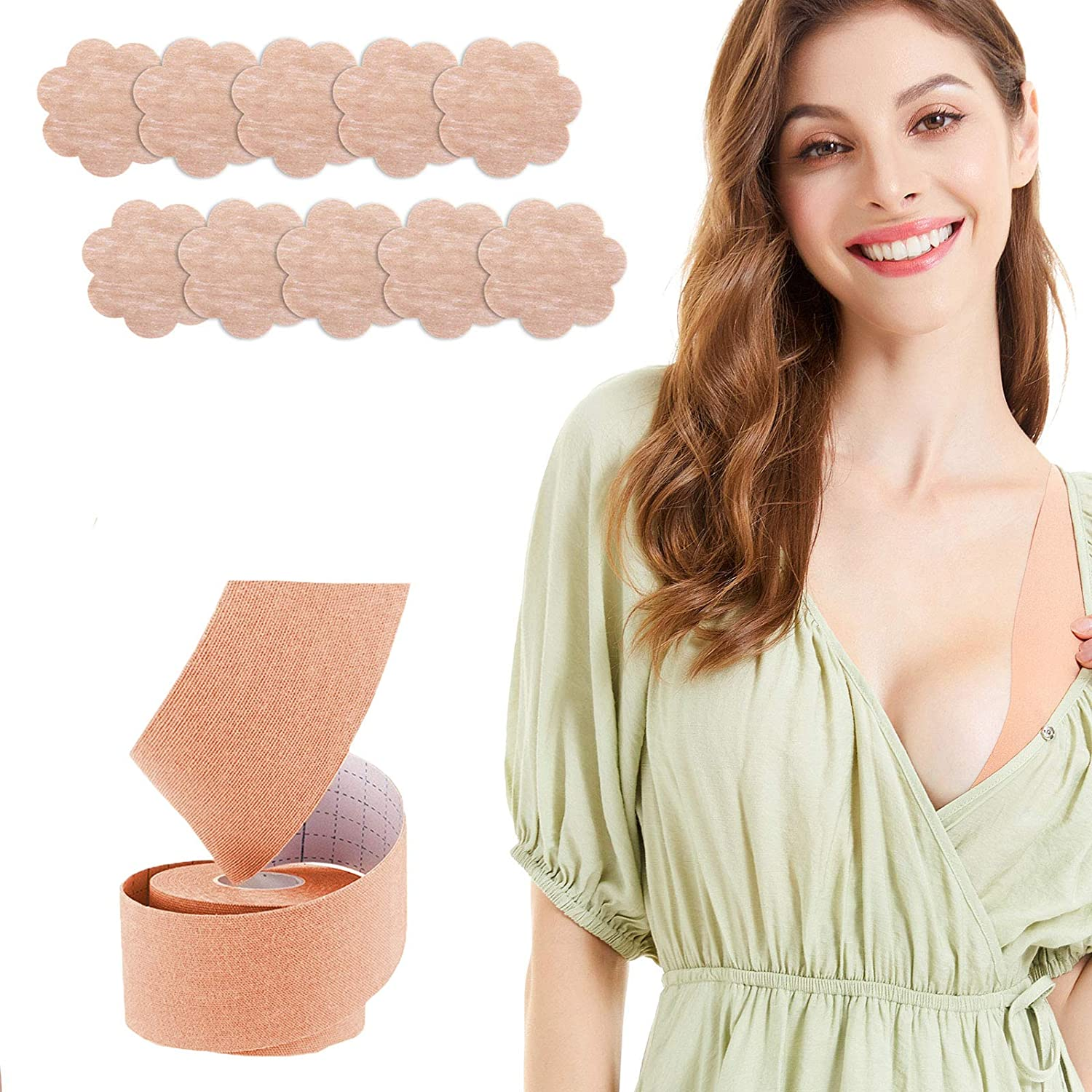 Push Up Women Nipple Cover Boob Tape Instant Breast Lift Body Invisible Bra