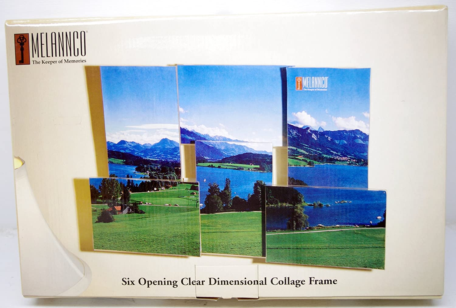 Amazon.com - Melannco Six Opening Clear Dimensional Collage Frame -