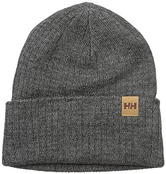 d489ed6a62c2b Helly Hansen Men s Business Standard Beanie-Charcoal Melange  Amazon ...