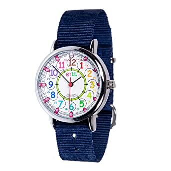 Reloj infantil EasyRead Time Teacher, hora digital en formato de 12 y 24 horas,