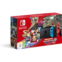 Nintendo Switch (Neon Red/Neon Blue) with Mario Kart 8 Deluxe - Limited Edition Bundle