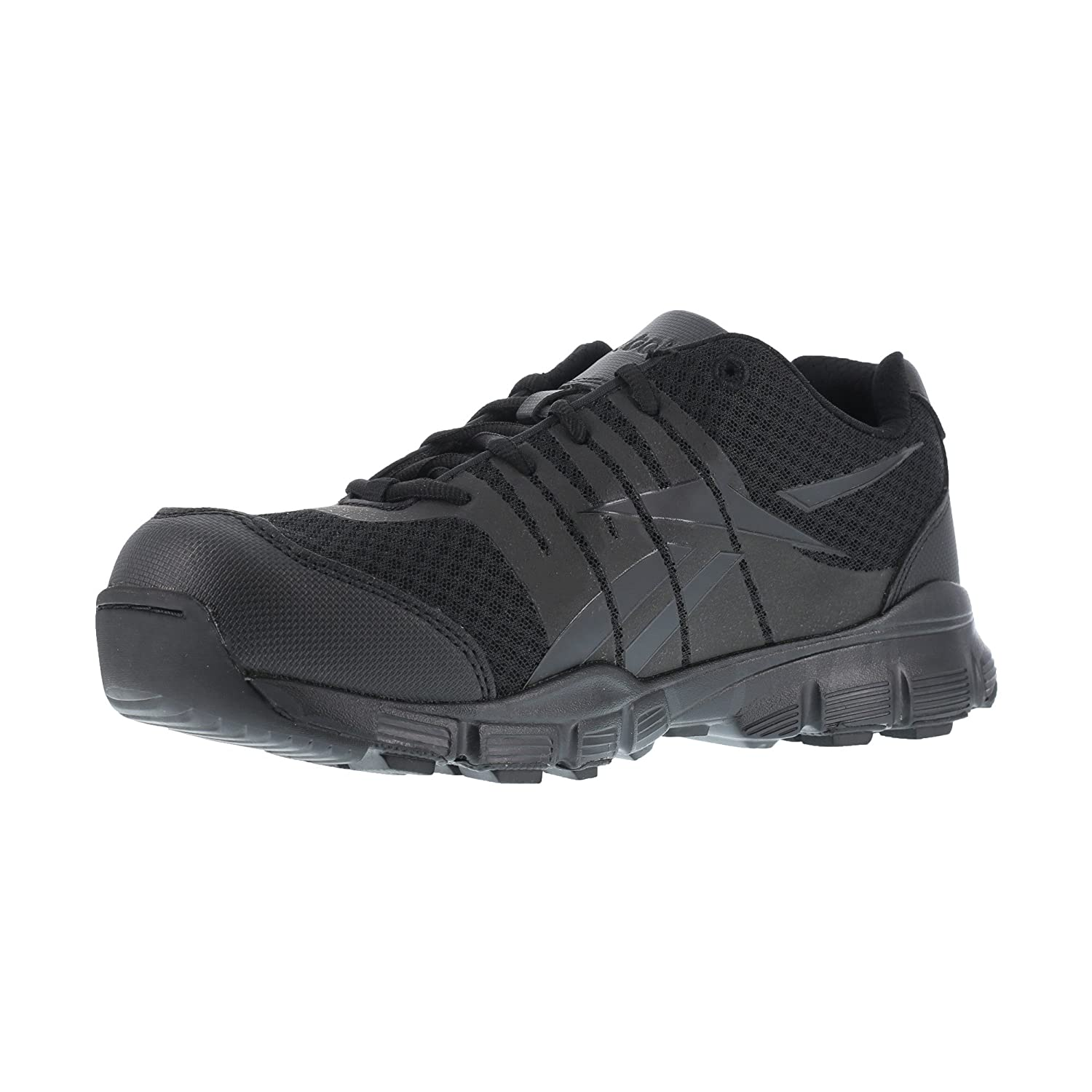 6f77e0d6bd0a1 Amazon.com: Reebok Mens Black Micro Mesh Tactical Oxford Dauntless ...