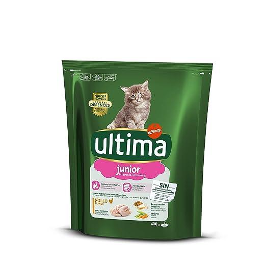 Ultima Cat - Junior 2-12 Pollo & Arroz 400 g: Amazon.es ...