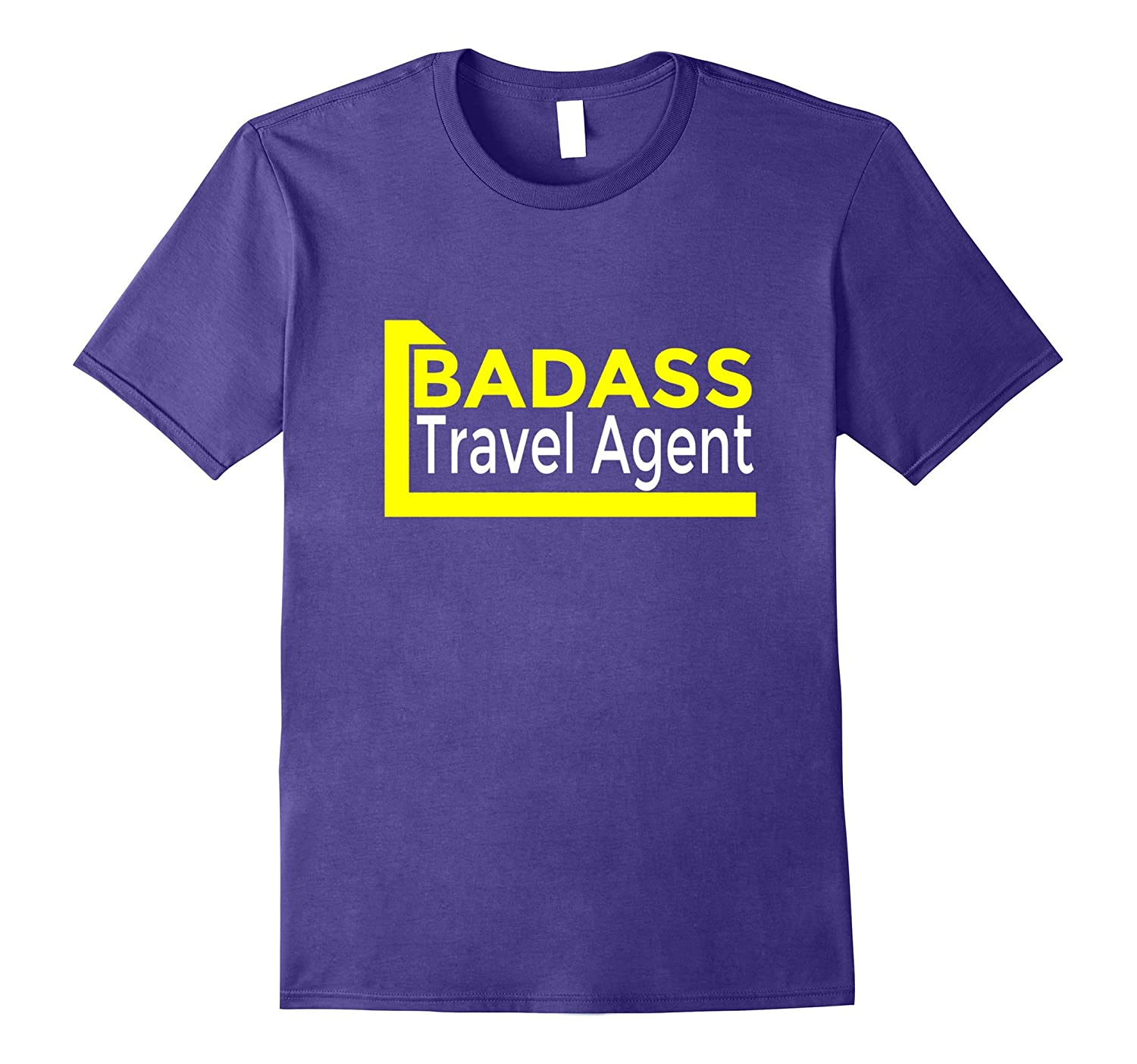Badass Travel Agent T-Shirt-PL