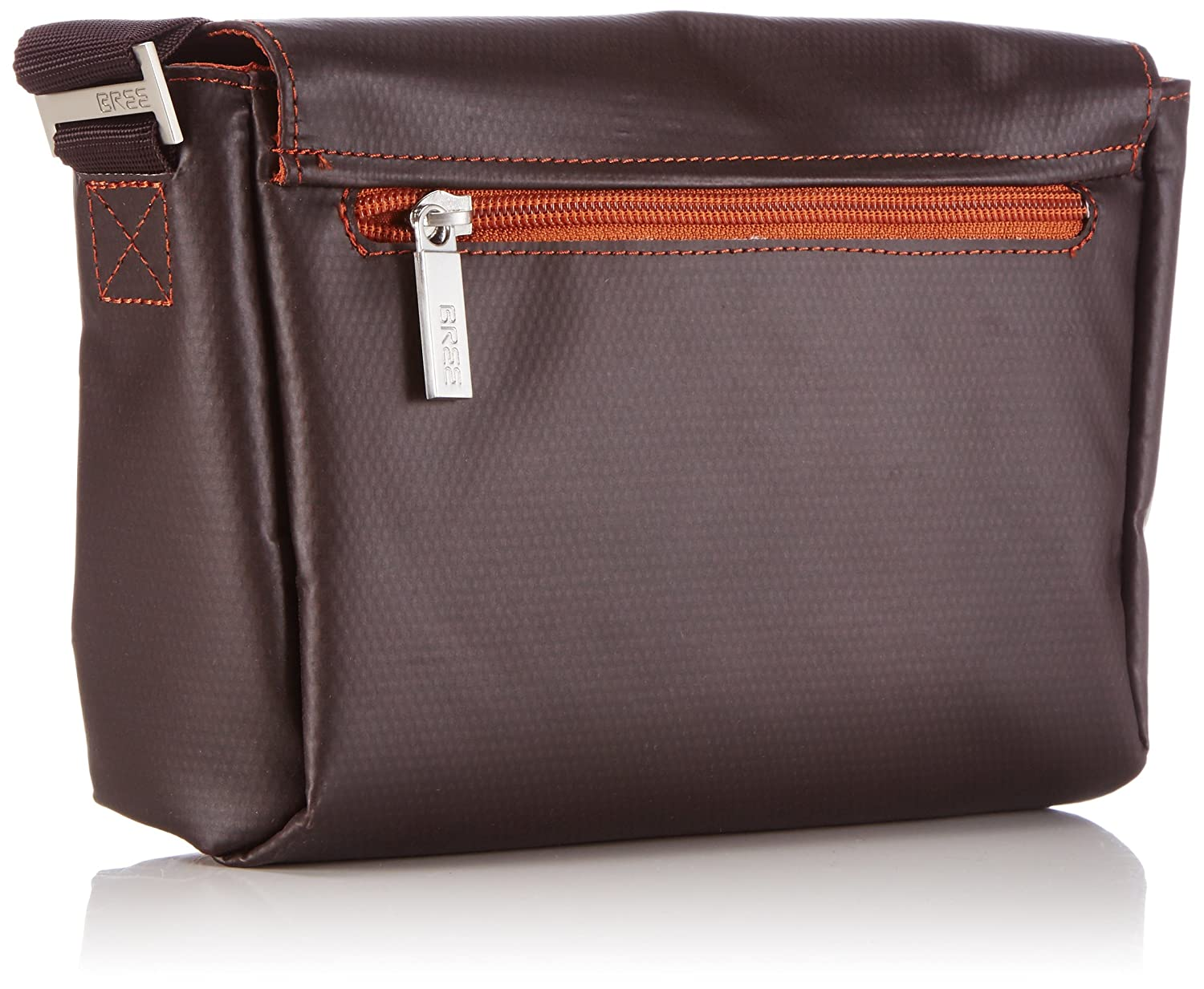 Bree Punch 701, Mocca, Cross Shoulder S, Unisex Adults Hobos and Shoulder Bag Bree