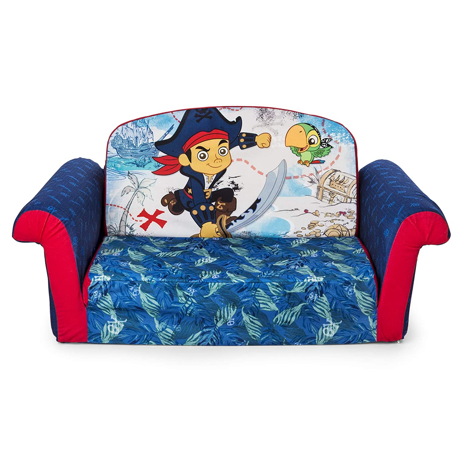 Marshmallow Fun Furniture Jake and The Neverland Pirates Flip Open Sofa Spin Master 6021846