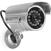 Smartwares CDM-34551 Cámara Ficticia para Exterior, Plata