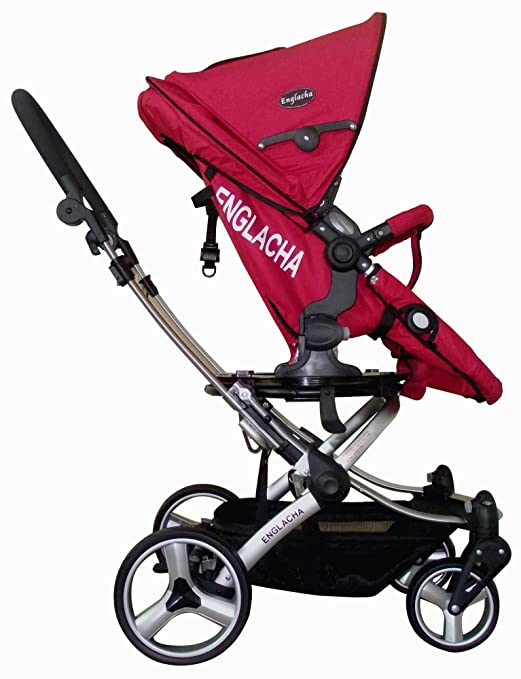 Amazon Com Englacha Easy Stroller Red Standard Baby Strollers