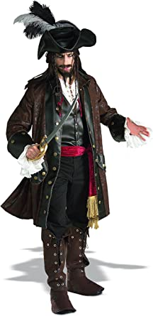 Amazon.com Rubieu0027s Costume Grand Heritage Collection Deluxe Caribbean Pirate Costume Clothing  sc 1 st  Amazon.com & Amazon.com: Rubieu0027s Costume Grand Heritage Collection Deluxe ...