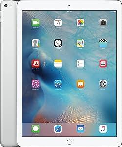 Apple iPad Pro 12.9in Tablet (256GB Wi-Fi + 4G, Silver)(Renewed)