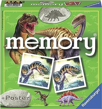 Ravensburger- Dinosaurier Memory, diseño Dinosaurios, Multicolor (22099): Amazon.es: Juguetes y juegos