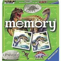 Ravensburger- Dinosaurier Memory, diseño Dinosaurios, Multicolor (22099)