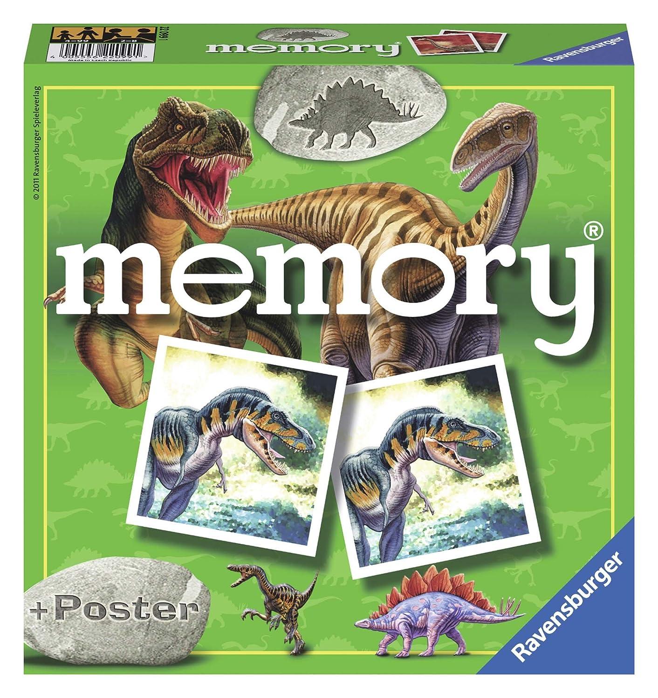 Ravensburger- Dinosaurier Memory, diseño Dinosaurios, Multicolor ...