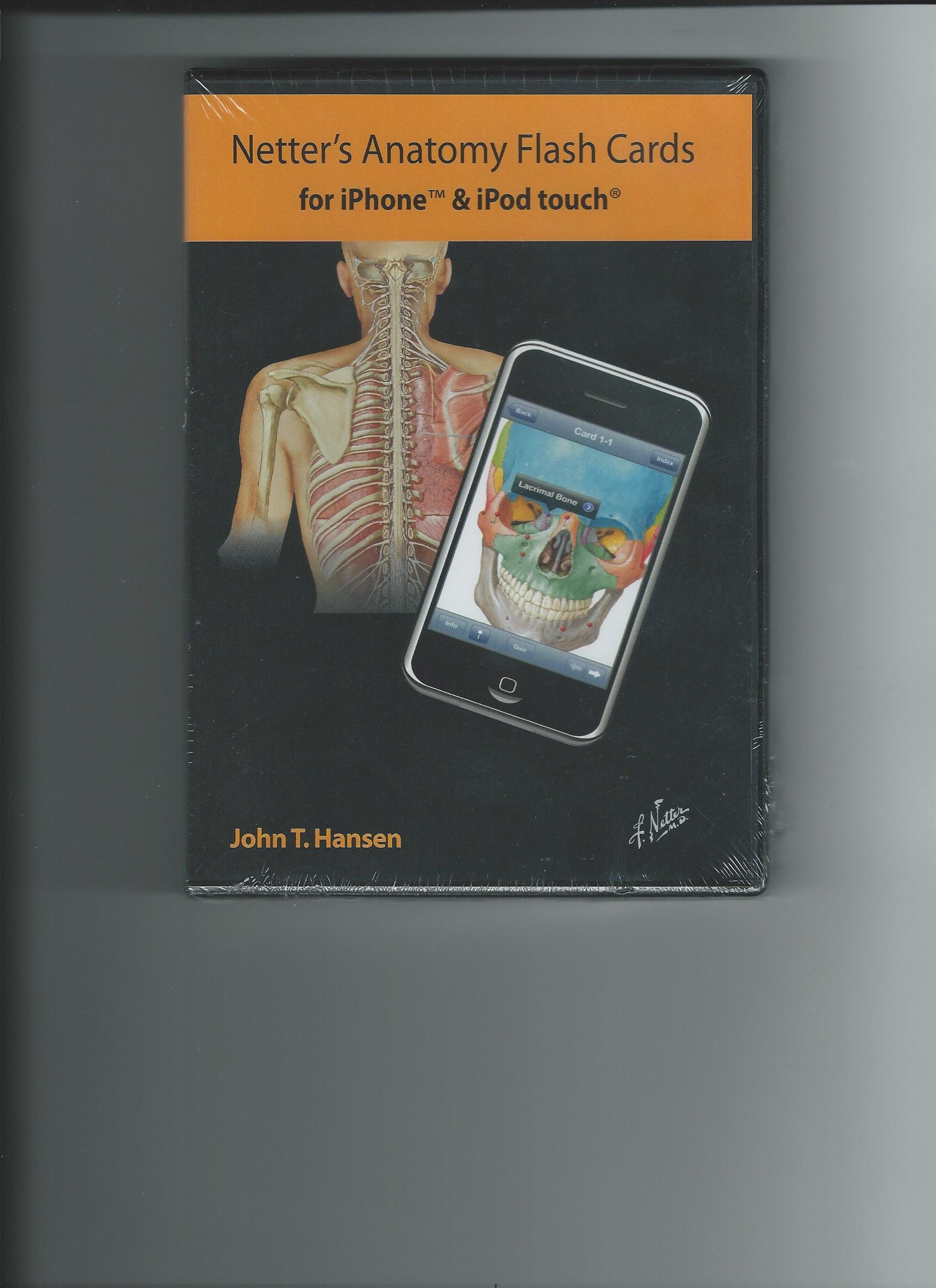 Netters Anatomy Flash Cards For Iphone Ipod Touch John T Hansen