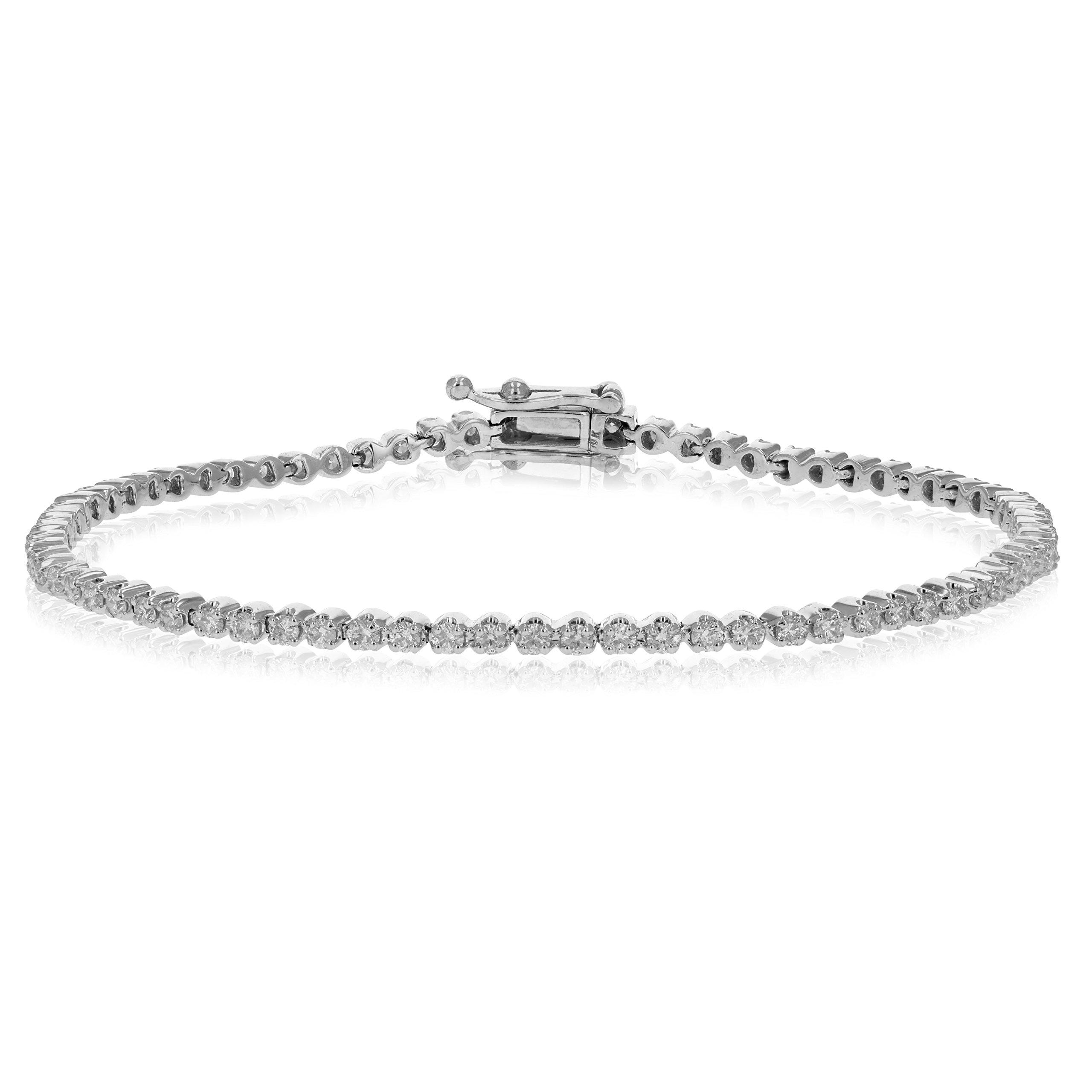 2 CT Diamond Tennis Bracelet in 10K Gold