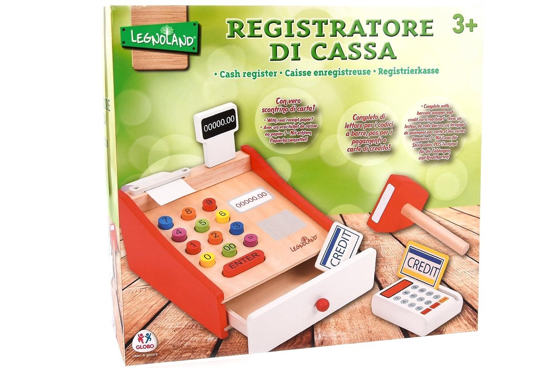 Legnoland Caja registradora de Madera, 20 x 17.4 x 15.8 cm (Star 81 38112): Amazon.es: Juguetes y juegos