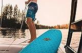 5' Hybrid Soft-Top WakeSurf Board - The Big Betsy - Beginner Friendly High Performance Hybrid Foam Wake Surfboard - FCSII Fin Boxes + Custom Fingerprint Texture - No Wax Needed
