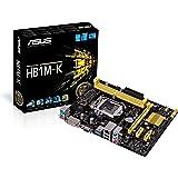Asus H81M-K (MATX/H81) Carte mère Micro ATX Intel Socket 1150 USB 3.0