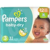 Pampers Baby Dry Size 3 Jumbo, 32 ct