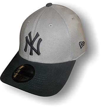 20617b5e094 New-Era (New Era) 39Thirty Cap - NY New York Yankees Grey Blue ...