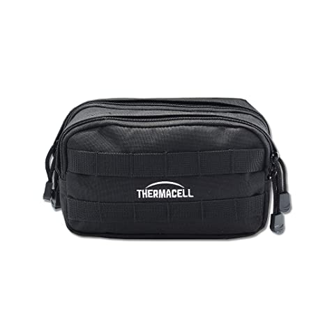 602d75bb1436 Thermacell Mosquito Repeller Black MOLLE Carry Bag; Made from Durable  Ballistic Nylon; 2 Zippered Compartments; Exterior MOD Snaps and MOLLE  Straps ...