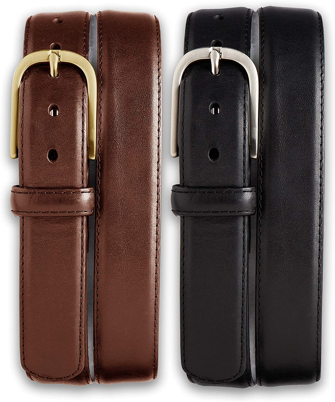 Harbor Bay 2-for-1 Leather Dress Belts