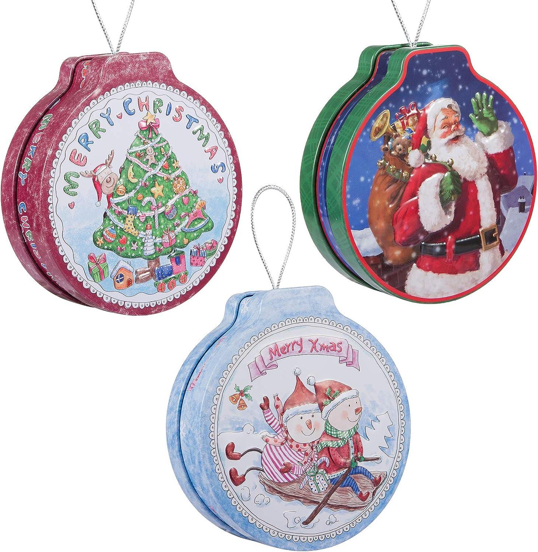 "Set of 3 10/"" Icicle Christmas Holiday Hanging Ornament Decor"