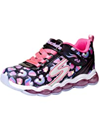 Skechers Kids' Glimmer Lights-Sparkle Dreams Sneaker
