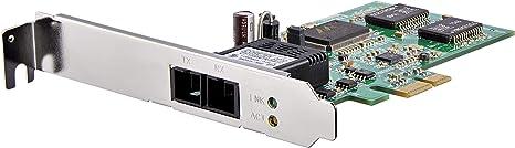 StarTech.com PCI Express (PCIe) Gigabit Ethernet Multimode SC Fiber Network Card Adapter NIC - 550m - PCIe GbE Fiber Optic Network Card (PEX1000MMSC2)